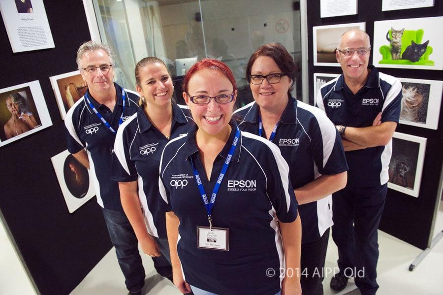 AIPP-Qld-Epson-team
